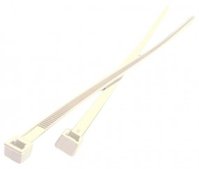 Kabelbinder Premium schwarz/natur