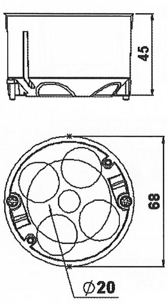 hohlwanddose durchmesser w rmed mmung der w nde malerei. Black Bedroom Furniture Sets. Home Design Ideas