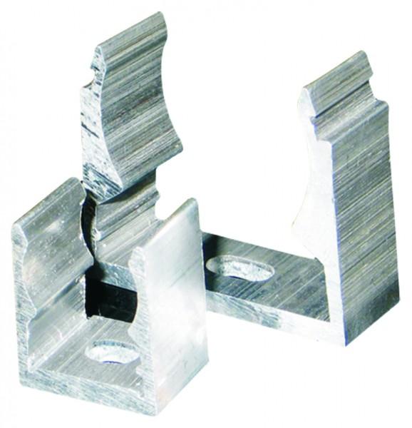 Klemmschelle für Aluminiumrohr