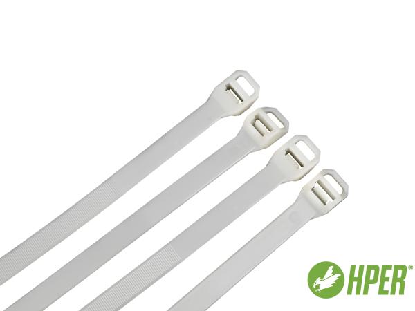 HPER Kabelbinder 1000 x 12,5 mm natur PA6.6 (VE100)