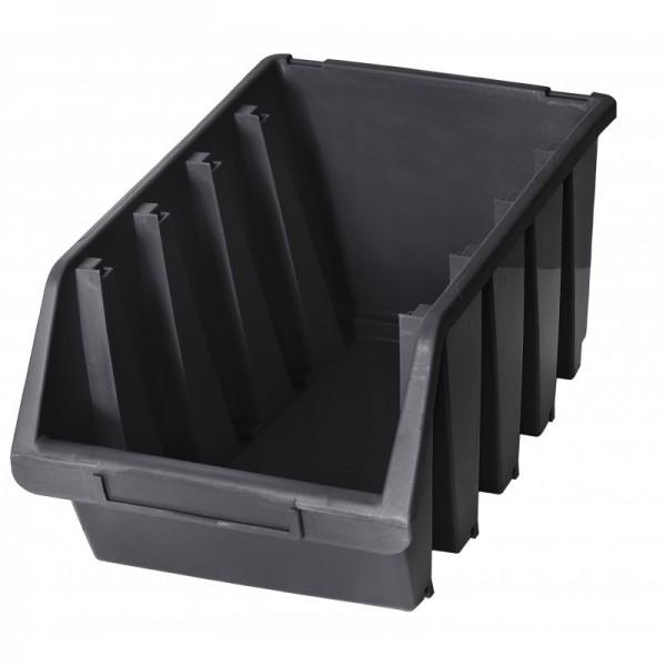 Stapelbox 204x340x155 - schwarz-1