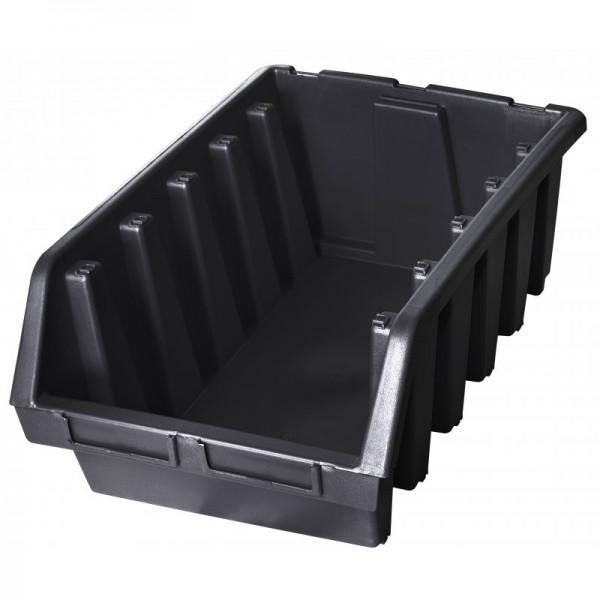 Stapelbox 333x500x187 - schwarz-1