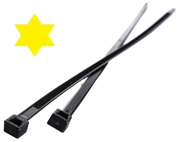 Kabelbinder UV-beständig 10 Jahre 200 x 3,6 mm (VE100)-1