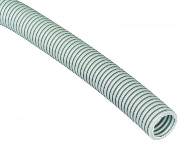 Wellrohr PVC - 750N ungeschlitzt NW25 (VE50)-1