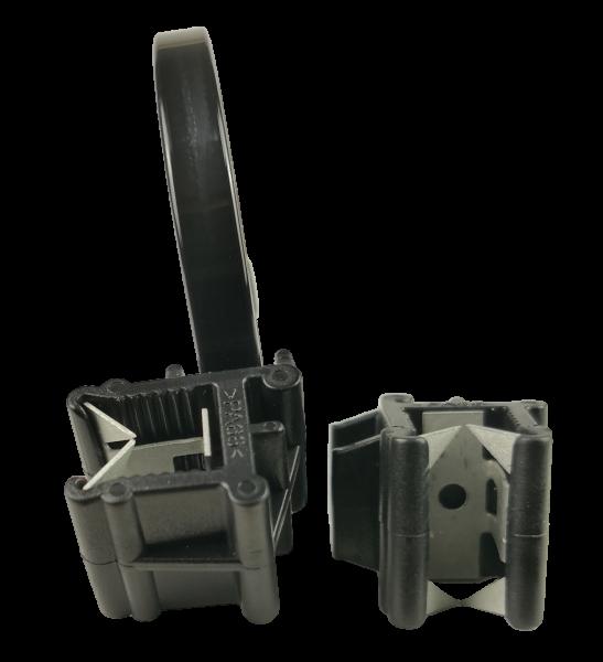 Edge Clip Breit/Seitlich/Parallel mit Kabelbinder
