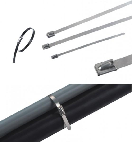 Kabelbinder Edelstahl 300 x 7,9 mm (VE100)-1