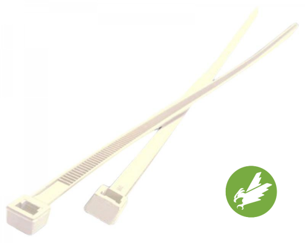HPER Kabelbinder 200 x 3,6 mm natur PA6.6 (VE100)