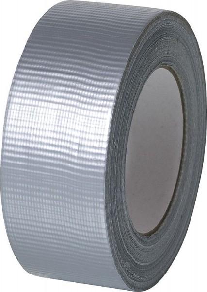 Gewebeklebeband PE 50mm / 50 m silber (VE1)-1