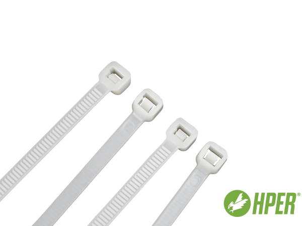 HPER Kabelbinder 200 x 2,5 mm natur PA6.6 (VE100)