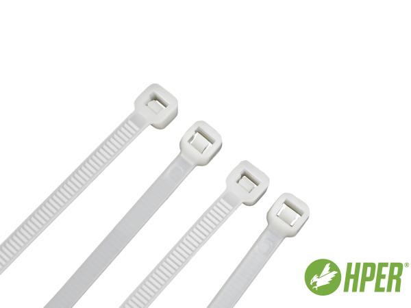 HPER Kabelbinder 200 x 4,8 mm natur PA6.6 (VE100)