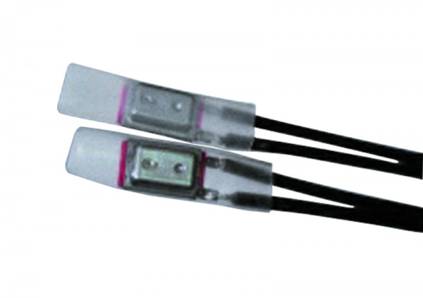 Schrumpfschlauch 25,4/12,7 hochtemperatur 2:1 transparent (VE30)-1