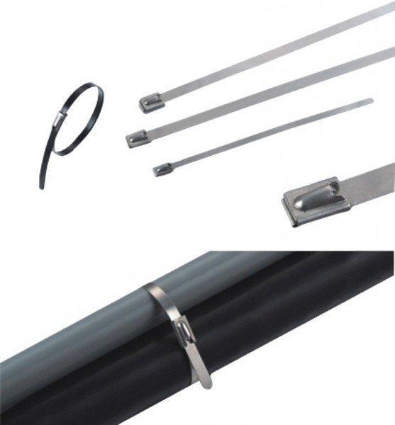 Kabelbinder Edelstahl 600 x 4,6 mm (VE100)-1
