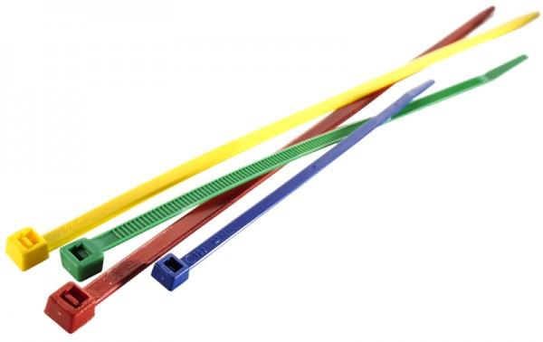 Kabelbinder 200 x 4,8 mm farbig PA6.6 (VE100)-1