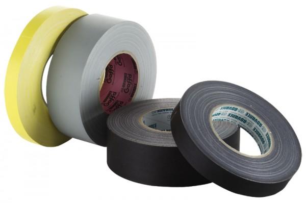 Gewebeklebeband PE 19mm / 25 m gelb (VE1)-1