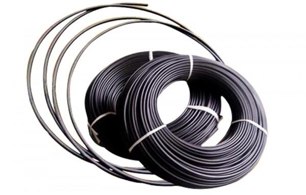 Schrumpfschlauch 6,4/3,2 hochtemperatur 2:1 schwarz (VE75)-1