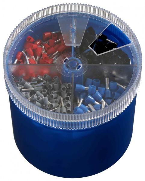 Große Sortimentbox Isolierte Einzel-Aderendhülsen