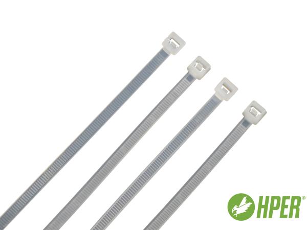 HPER Kabelbinder wiederlösbar nachhaltig 300 x 4,8 mm natur (VE100)