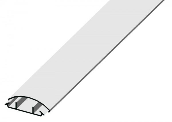 Kabelkanal in halbrunder Form