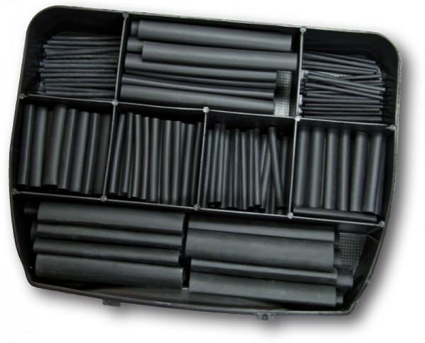 Schrumpfschlauch-Box 2:1 - 280 Abschnitte schwarz (VE1)-1