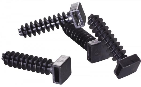 Einschlaghalter für Kabelbinder