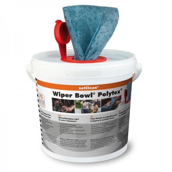 Wiper Bowl Polytex Reinigungstücher Bild 1